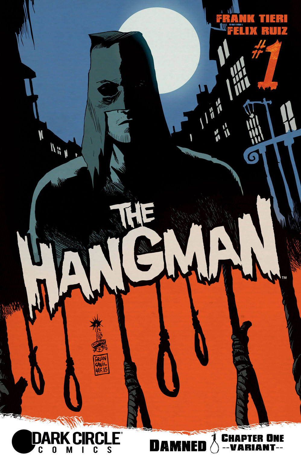 Archie comics archie comics sneak peek of the week major spoilers - Archie Comics Sent Major Spoilers The Cover Images And Solicitation Information For Titles Arriving In October 2015 Hangman 1_bradstreet Hangman 1_ff