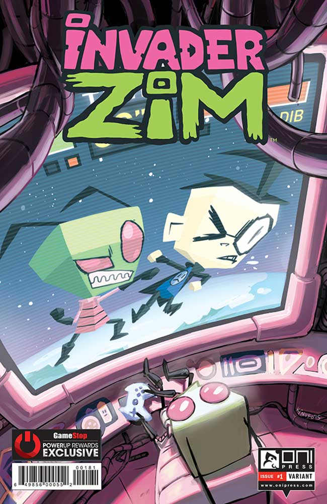 SDCC15 Invader Zim lands on July 8th  Major Spoilers