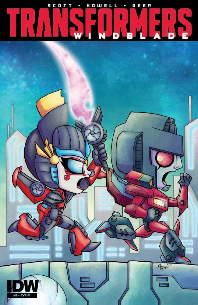 Transformers Windblade 6 Major Spoilers Preview