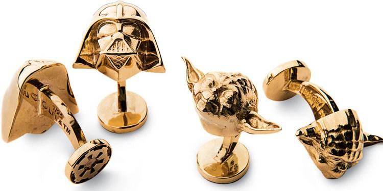 DarthVader-Yoda-Gold-Cufflinks