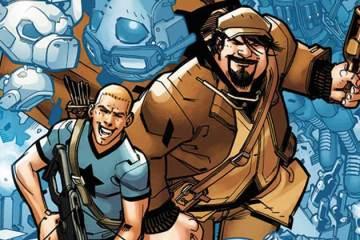Wayne Hall, Wayne's Comics, Valiant Entertainment, Archer and Armstrong, A&A, Batman, Dark Knight, Christmas, Rafer Roberts, Plastic Farm, Darkseid, Thanos, Alfred