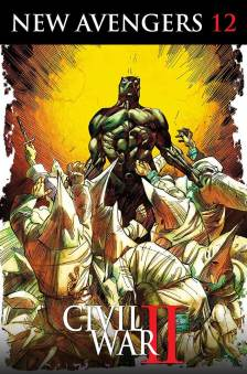 New_Avengers_12_Cowan_Black_Panther_50th_Variant