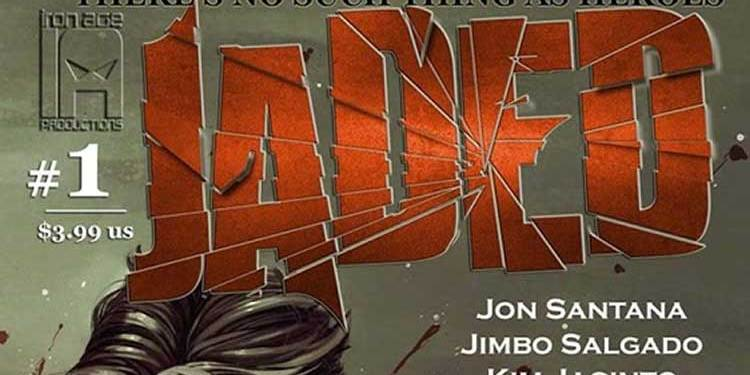 Wayne Hall, Wayne's Comics, hero, Jaded, Bejaded, Jon Santana, Civil War, Sovereign, Kid Prodigy, Devlin, Everhounds, Wordsmith, Jimbo Salgado, Iron Age Productions, magic, superhero,