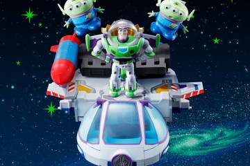 Toy Story Buzz Light Year Separates