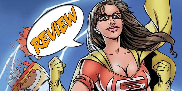 Sam Johnson, Geek-Girl, Markosia, Comixology, super-powers, Ruby Kaye, Carlos Granda, Nahp, glasses, Trevor Goldstein, Lightning Storm, Actuality Press, Cabra Cini, Almighties,