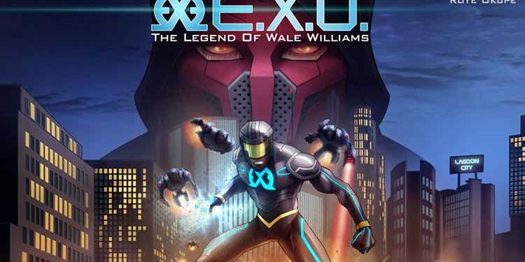 Wayne Hall, Wayne's Comics, E.X.O., Youneek Studios, Roye Okupe, Legend of Wale Williams, Nigeria, Kickstarter,