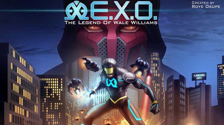 Wayne Hall, Wayne's Comics, E.X.O., Youneek Studios, Roye Okupe, Legend of Wale Williams, Nigeria, Kickstarter,
