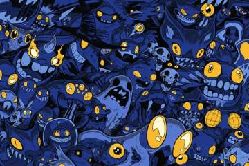 Wayne Hall, Wayne's Comics, Monsters, Scary, Kickstarter, Russell Nohelty, Erik Lervold, Indie, Katrina Kunstmann, Juan Carlos Ramos, Michael Tanner, Nate Lovett,Schott Bachmann, Greg Smith, Meescha Dare, Dennis Greenhill, Joe Ranoia, Cassidy Lee Phillips, Nicolas Touris, Alexander Yak, Saint, Yak, John Hollandm, Jonathan Fisher, Christie Shinn, Bradly Sheridan, Arthur Bellfield, Blair Rossi, butterfly, Christian Douglas, Ivan Sarnago, Mary Bellamy, David Lucarelli, Henry Ponciano, Nicholas Doan, Daniele Serra, Michael Norwitz, Phillip Johnson, CW Cooke, Kurt Belcher, Rob Herbert, Jack Holder, Luis Bermudez, Alex Burmudez, Walter Ostlie, Steve Waldinger, Erika Lipkes, Dan Sharner, Zac Skellington, Bobby Tommy, Felix Yin, Alex Bodnar, Josh Wagner, Freedom Lee Drudge, Angela Fullard