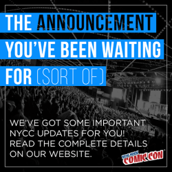 comics, conventions, NYCC, New York, Thursday, Friday, Saturday, Sunday, Javits Center, four-day pass, comic-con, fan, New York Comic Con