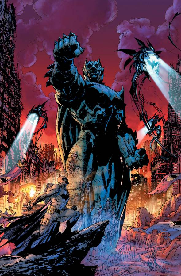 Dark Days: Forge #1 by Jim Lee