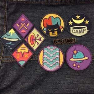Lumberjanes-Badges