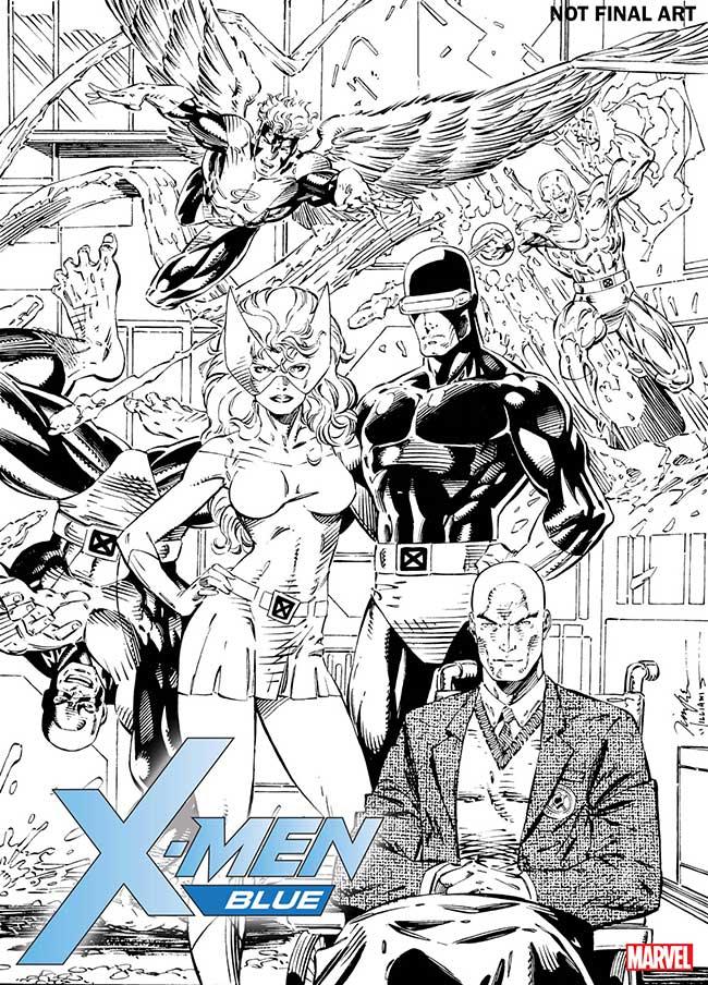 Jim Lee X-Men Blue #1