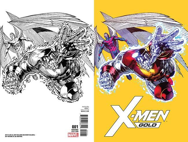 Jim Lee X-Men Gold #1