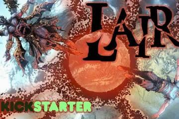 Wayne Hall, Wayne's Comics, Gilbert Deltrez, Under the Flesh, Lair, demon, zombie, Indie comic, JL Giles,