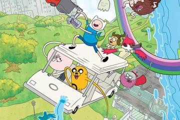 Adventure Time Regular Show Crossover