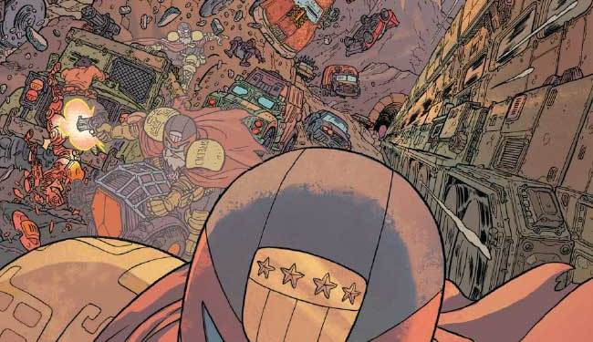 Judge Dredd: The Blessed Earth #2.