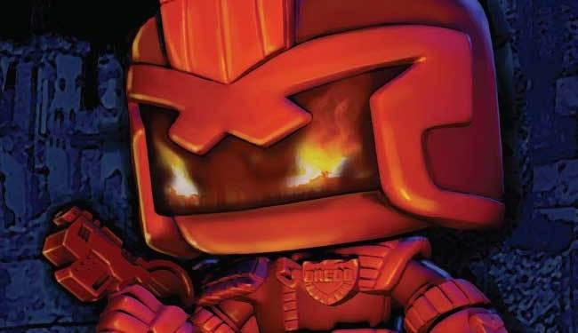 Judge Dredd Funko Universe