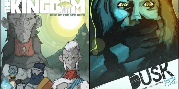 Wayne's Comics, Wayne Hall, Pale, Kingdom, Rise of the Ape King, Dusk, Spero Studios, Brandon Gary, Jason Bienvenu, Comicpalooza