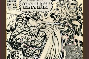 Jack Kirby Art