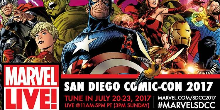 Marvel at San Diego Comic Con