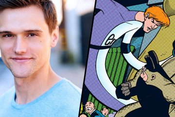Hartley Sawyer as the Elongated Man for the CW's The Flash