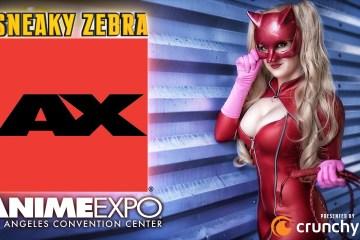Sneaky Zebra Anime Expo