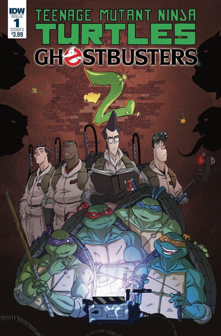 Teenage Mutant Ninja Turtles Ghostbusters crossover