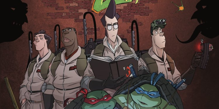 Teenage Mutant Ninja Turtles Ghostbusters crossover