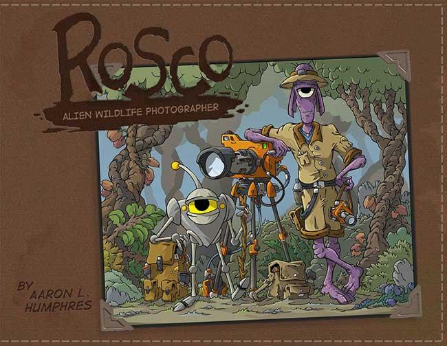 Rosco: Alien Wildlife Photographer