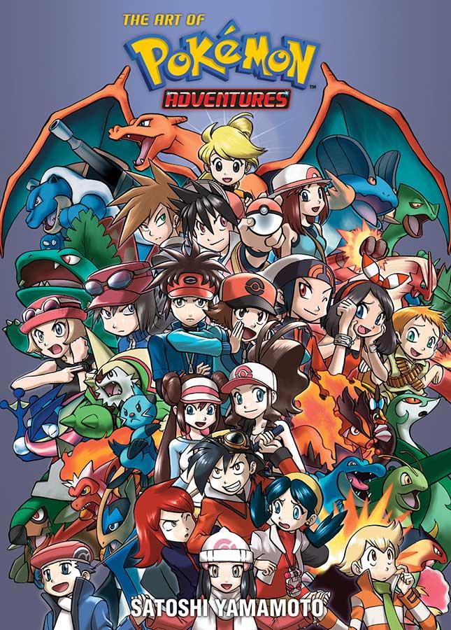 The Art of Pokemon Adventures