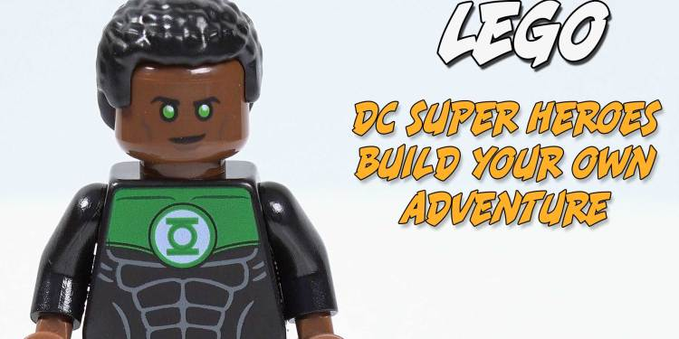 Green Lantern John Stewart Minifigure