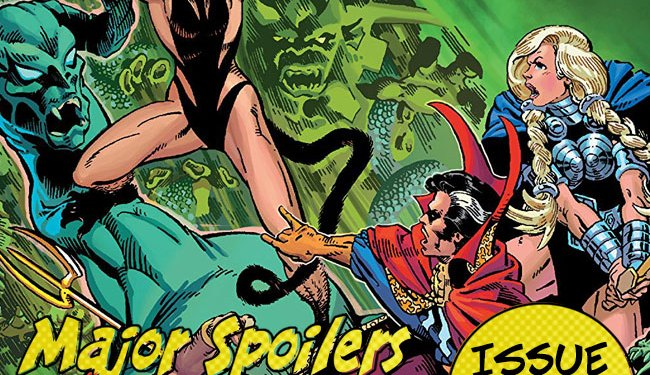 Major Spoilers Podcast #741 Defenders The Six Fingered Hand Saga