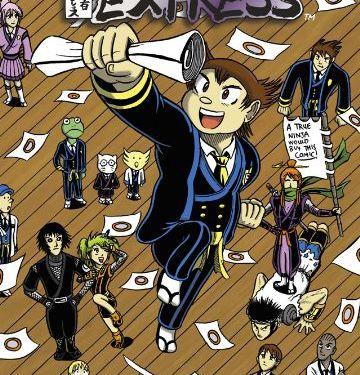 Ninja Express, Ninja Bears, D.M. Charles, Sayaka Katsuragi, Otaki Oshiro, high school, anime