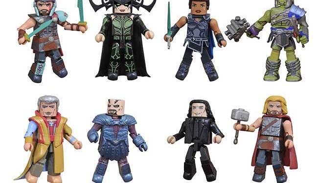 Thor Ragnarok Minimates