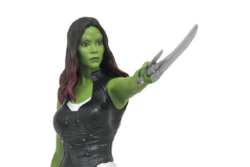 Gamora and Rocket Raccoon Statue from Guardians of the Galaxy