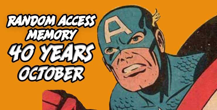 Random Access Memory October 2017