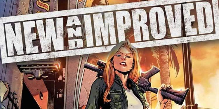 Wayne Hall, Wayne's Comics, New and Improved, Kickstarter, Tara Flynn, Anthony Spay, Mallory, Charlie Norris, mutated food supplement, immortal, invincible