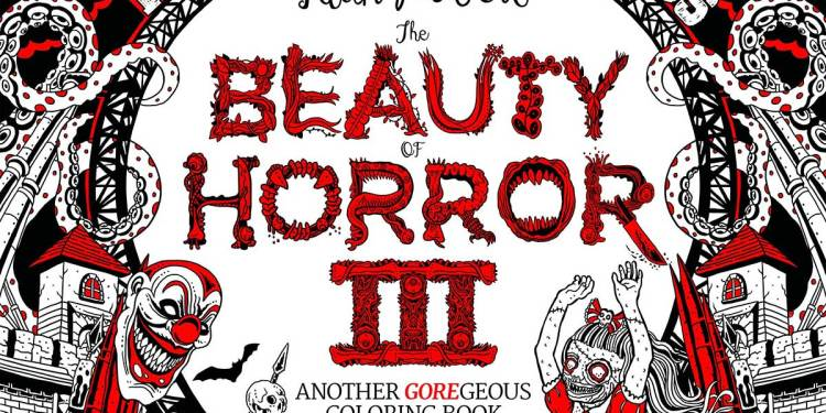 Beauty of Horror 3 Coloring Book