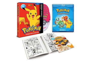 Pokemon Indigo League Season 1 DVD and Blu-Ray