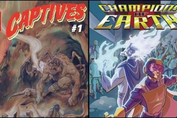 Wayne Hall, Wayne's Comics, Fright Comics, Alexander Banchitta, Captives, Champions of Earth, James Riccardo, Marcelo Salaza, Scott Shriver, Jupiter Man, Scarab, Captain Galaxy, Crimson Phantom,