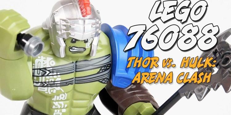 Thor vs. Hulk: Arena Clash Lego Set