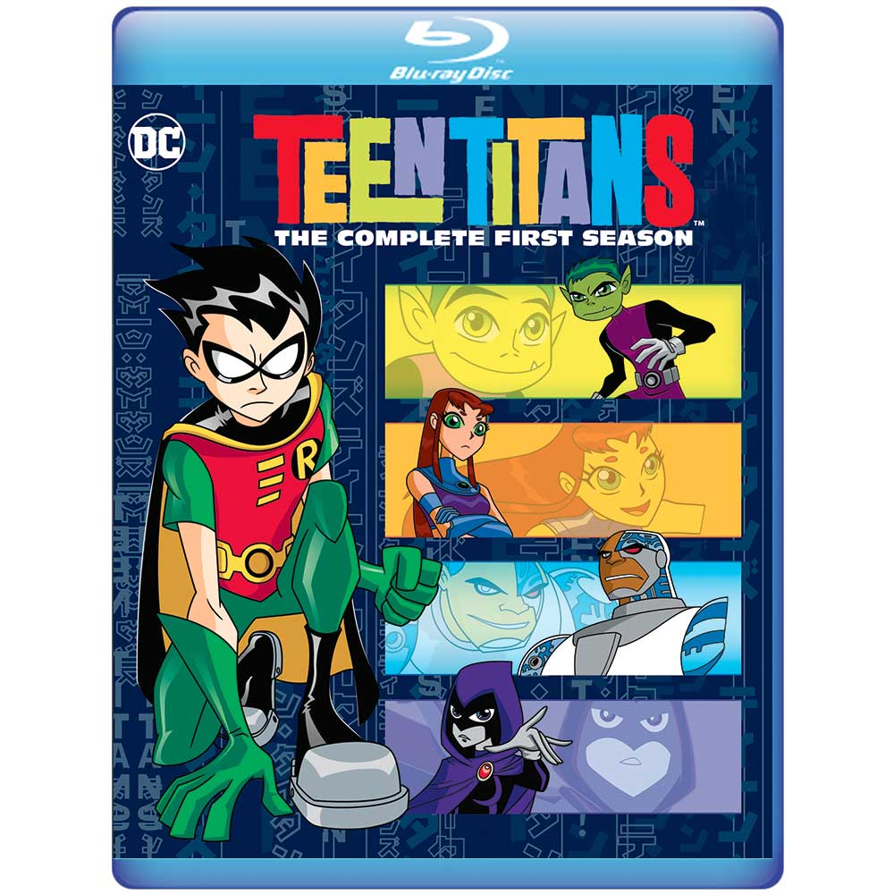 Television Teen Titans The Complete First Season -9383