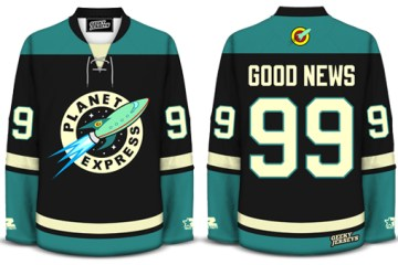 Planet Express Geeky Jersey