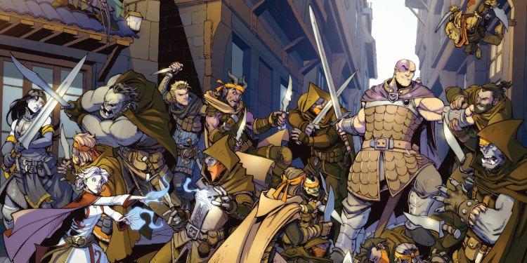 Dungeons and Dragons Evil at Baldur's Gate