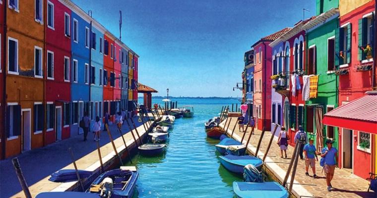 Murano and Burano, Venice, Italy