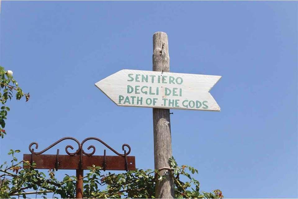 Path of Gods sign