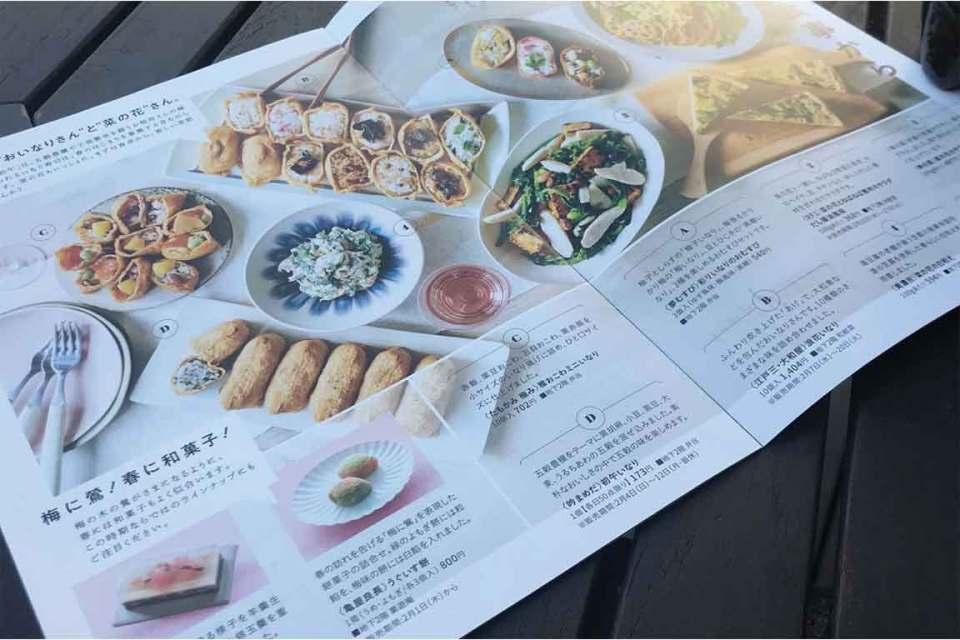 Eating in Tokyo Menu