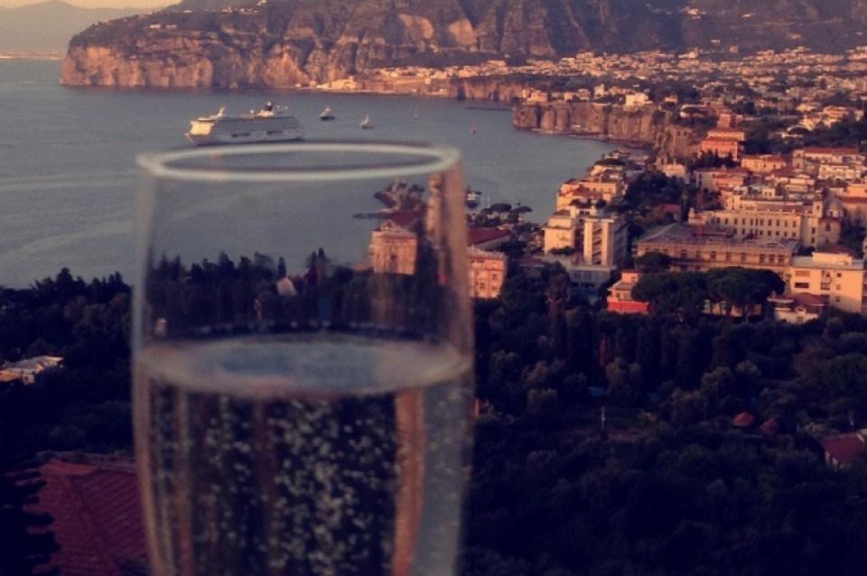 Champagne Grand Hotel Capodimonte