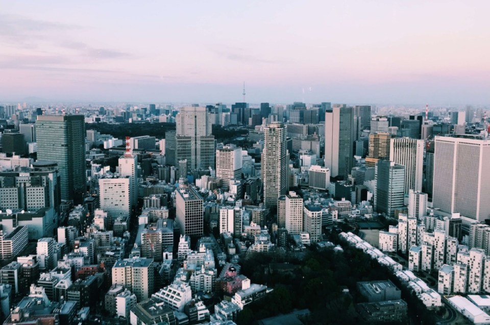 View from Ritz Carlton Tokyo