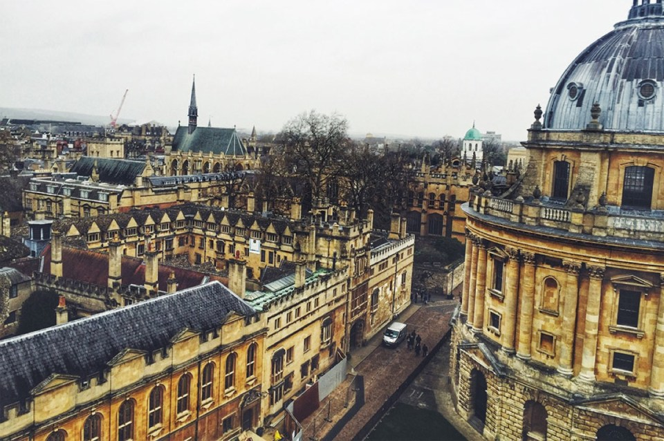 Oxford Bell Tower Best things to do in Oxford England